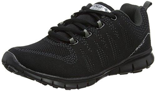 Gola Tempe, Zapatillas Deportivas Para Interior Para Mujer Gris (Black/charcoal)
