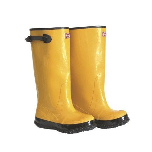 Boss Leggin Boots Over The Shoe Men'S 17 In. Tall Rubber Yellow
