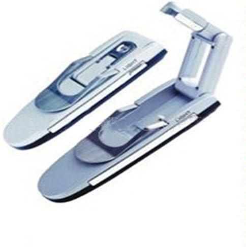 Zehui Mini Desk Lamp Creative Folding Clamp Clip Book Reading Portable Lightweight Light