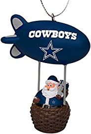 FOCO NFL Team Santa Blimp Holiday Ornament