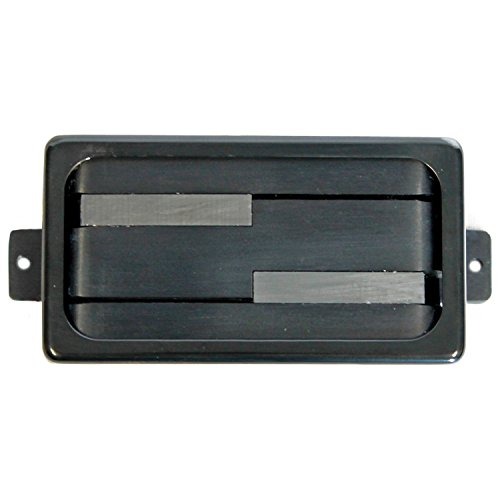 Lace Alumitone Deathbucker Humbucker black w/ black mounting ring