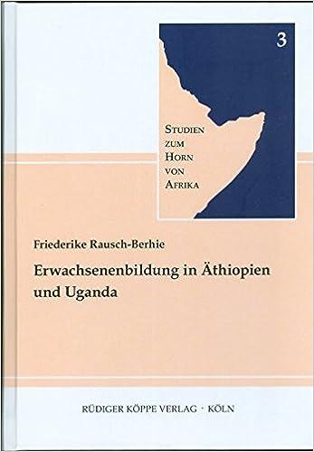 Erwachsenenbildung in Äthiopien und Uganda: Eine Untersuchung non ...