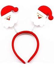 عصابة رأس سانتا كلوز لتزيين الكريسماس
