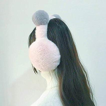 Wansan Warm Plush Earmuffs Foldable Round Ear Adult and Children Winter Outdoor Earmuffs