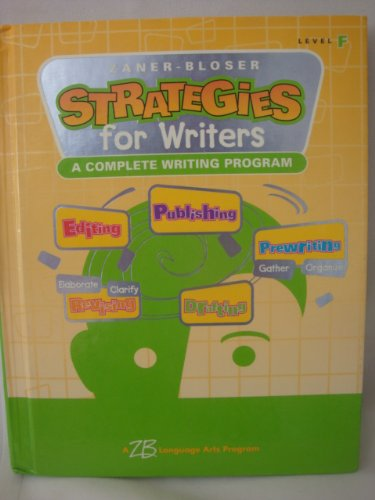 Download Strategies for Writers: Level F - Grade 6 pdf