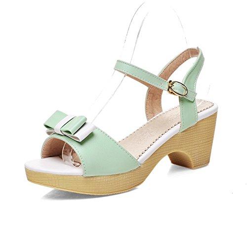 Green Femme AdeeSu AdeeSu SLC04252 Plateforme SLC04252 Plateforme AdeeSu Green Femme wFzgxpzq7