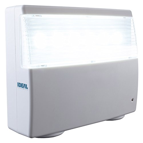 Ideal Security Inc. SK638 Home Emergency Power Failure, White 120 Lumens LED, Up to 16 Hours of Light, No Wiring,