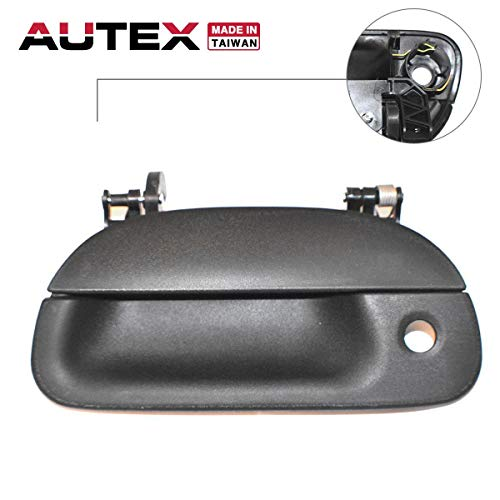 AUTEX Tailgate Handle Liftgate Door Handle Compatible with Ford F-250 350 450 550 Super Duty 1999-2007 Replacement for Ford Explorer Sport Trac 01-05 80238 (Super Handle Duty Tailgate)