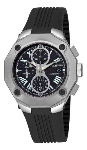 Baume-Mercier-Mens-8755-Riviera-XXL-Magnum-Titanium-Watch