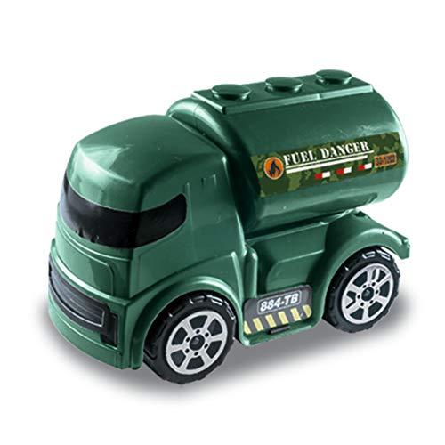 Caminhão Tanque Militar Zucatoys Verde