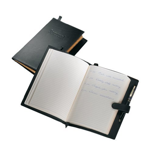 Royce Leather The Journal - Black