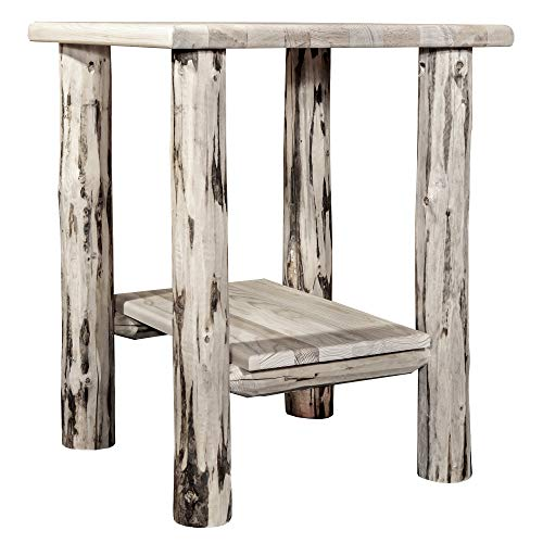 Montana Woodworks MWNS Montana Collection Nightstand End Table, Ready to Finish