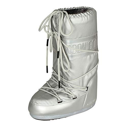 Plus Azul Bota Clásica Moon Luna Plata Boot Unisex Zapatos 14023300003 nBqCxwY6pv
