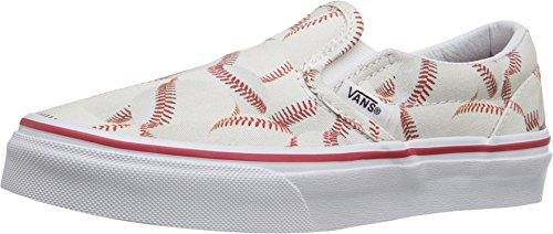 Vans Kids Sports Slip-on Shoe (11.5 Little Kid M, Baseball/Red) - Image 9