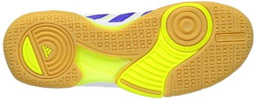 adidas Court Stabil 10.1 G96430 Herren Handballschuhe Weiß (Running White Ftw / Hero Ink F13 / Electricity)