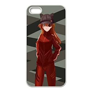 Asuka Langley Soryu Anime iPhone 4 4s Cell Phone Case White Gift pjz003_3341623