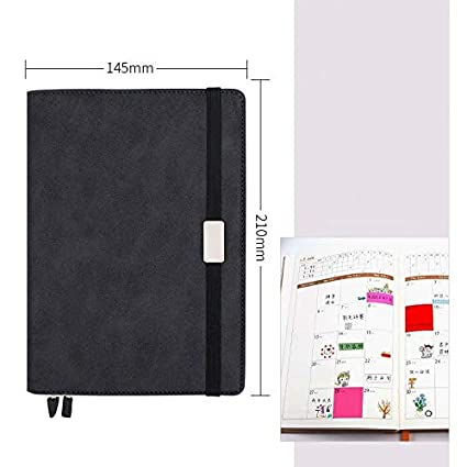 Amazon.com : Planner A5 Soft School Planner Notebook Daily ...