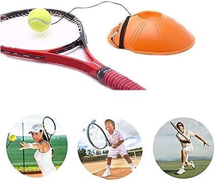 Attrezzatura da Allenamento Portatile Esercizio Basboard Auto Training Tool Ball Back Fourthsky Tennis Trainer Rebound Basboard Tennis Ball Adatto per Principianti