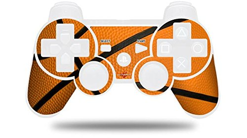 Sony PS3 Controller Decal Style Skin - Basketball (CONTROLLER NOT INCLUDED)