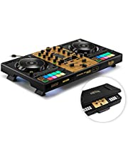 Hercules DJControl Inpulse 500 Gold Edition — Limited edition — 2-deck USB DJ-controller voor Serato DJ Pro en DJUCED