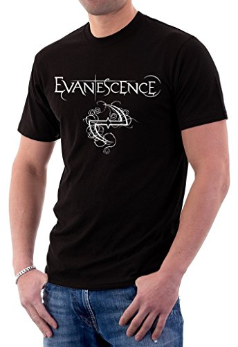Evanescence Rock Metal Band Logo Fallen Mens T-Shirt Small -