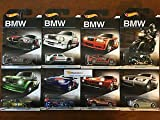 2016 Hot Wheels BMW 100th Anniversary Set Complete Set of 8 Cars