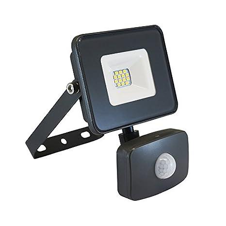 Vision-EL 780302 Proyector Exterior LED con detector, vidrio ...