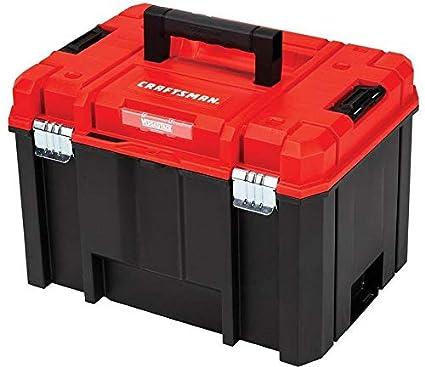 Craftsman Versastack System 17 Inch Red Plastic Tool Box