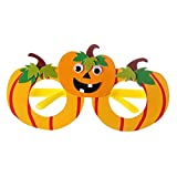 Halloween Hand-made Toys Children Diy Cartoon Glasses Material Package