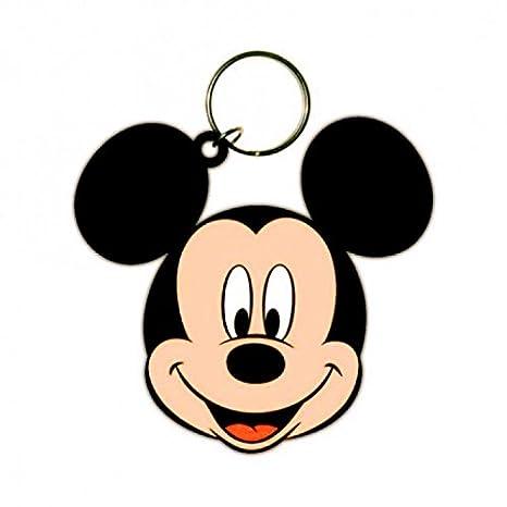 1art1® Set: Mickey Mouse, Head Llavero (6x4 cm) Y 1x ...