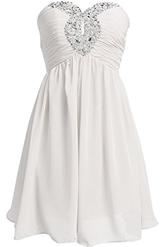 Ivydressing - Vestido - trapecio - para mujer Weiß