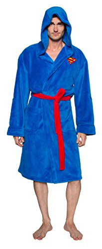 DC Comics Superman Logo Bathrobe