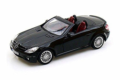 Mercedes Benz SLK55 AMG, Black - Motormax 73292 -1/24 Scale Diecast Model Toy Car