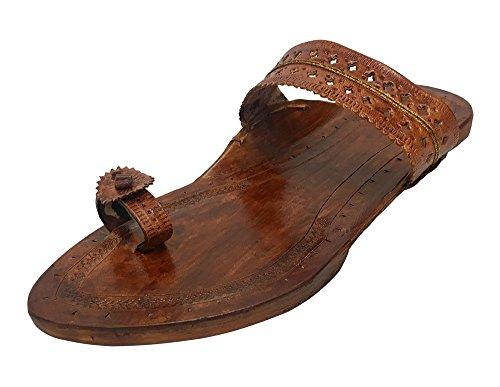 Step n Style , Damen Hausschuhe braun camel