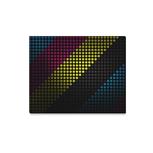 ENEVOTX Wall Art Painting Minimalistic Colorful Dots Col X Wallpaper Prints On Canvas The Picture Landscape Pictures Oil for Home Modern Decoration Print Decor for Living Room