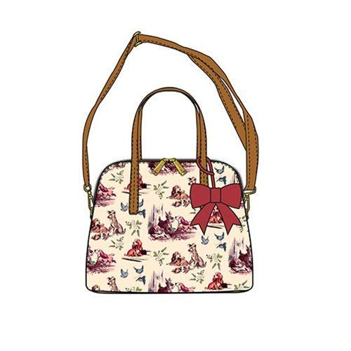 - Loungefly x Lady And The Tramp Convertible Bow-Detail Bag (One Size, Multicolored)