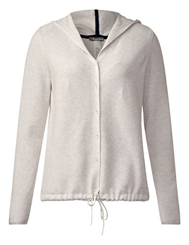 Melange Femme Blanc Street Shell White Gilet 10569 One UYqUw4ET