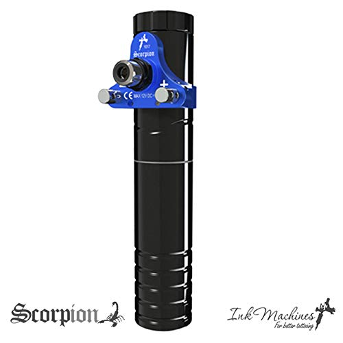 Scorpion Tattoo Pen from Ink Machines Sweden (Scorpion Demonic Blue) (Scorpion Tattoo Machine)