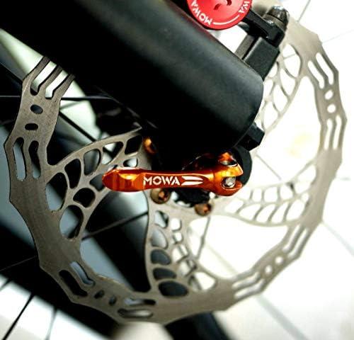 MOWA Mountain MTB Cycling Bike Titanium Quick Release Ti QR Skewer Set Red