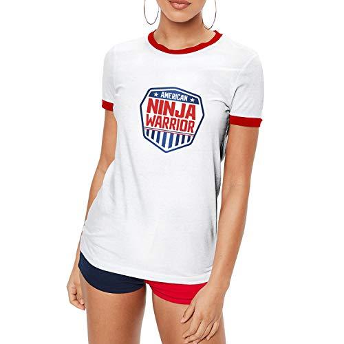 American-Ninja-Warrior-Logos- Girls Awesome Casual Round ...