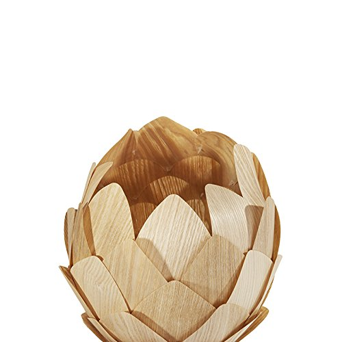 Huarsp B5201704 Fashion Pineapple Wood Veneer Material Shape Chandeliers for Restaurant, Study, Kitchen,Bedroom, etc.Burlywood by Huarsp (Image #5)