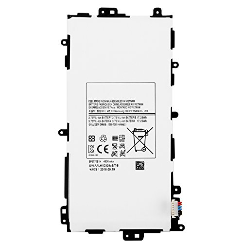 ANTIEE Compatible New SP3770E1H Battery Replacement Samsung Galaxy Note 8.0 N5110 N5100 GT-N5110 N5120 SGH-i467 Tablet 3.75v 4600mAh 141332454061 by ANTIEE (Image #1)