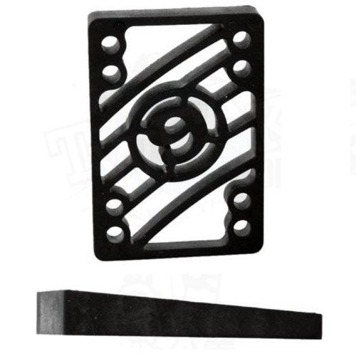 Angled Riser Pads - SECTOR 9 Longboard ANGLED RISER PADS Risers 2-pack