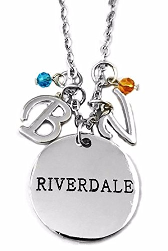 Main Street 24/7 Riverdale TV Show Inspired Betty & Veronica Charm Pendant Necklace ()