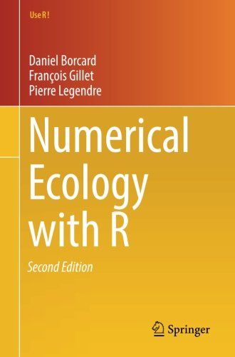 Numerical Ecology with R (Use R!) by Springer