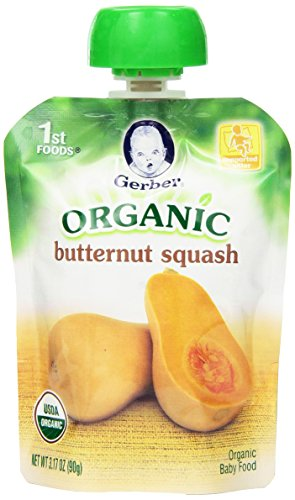 Gerber Organic Foods Butternut Squash product image