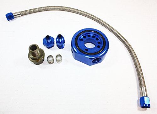 (Fits for Honda Civic/Acura Integra B16 B17 B18 VTEC V-TEC Head to LS B20 Conversion Kit - Blue)