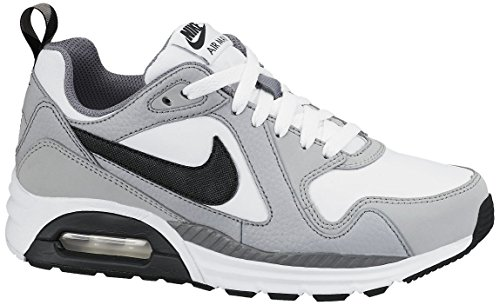 Cool Max niño 36 Wlf Zapatillas GS 5EU Grey Air Plateado Nero 23 Black Bianco Grey para White 5cm Grigio Nike Trax B5AwvAq