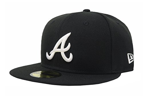 Atlanta Braves New Era MLB Custom Logo Fitted 59FIFTY Cap. Sale Price    6.00. Store  Hat World   Lids. Atlanta Braves Fitted Hats bb50ac1bd16e
