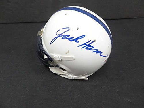 Jack Ham Signed Penn State Mini Helmet Autograph Auto AC85917 - PSA/DNA Certified - Autographed College Mini Helmets ()